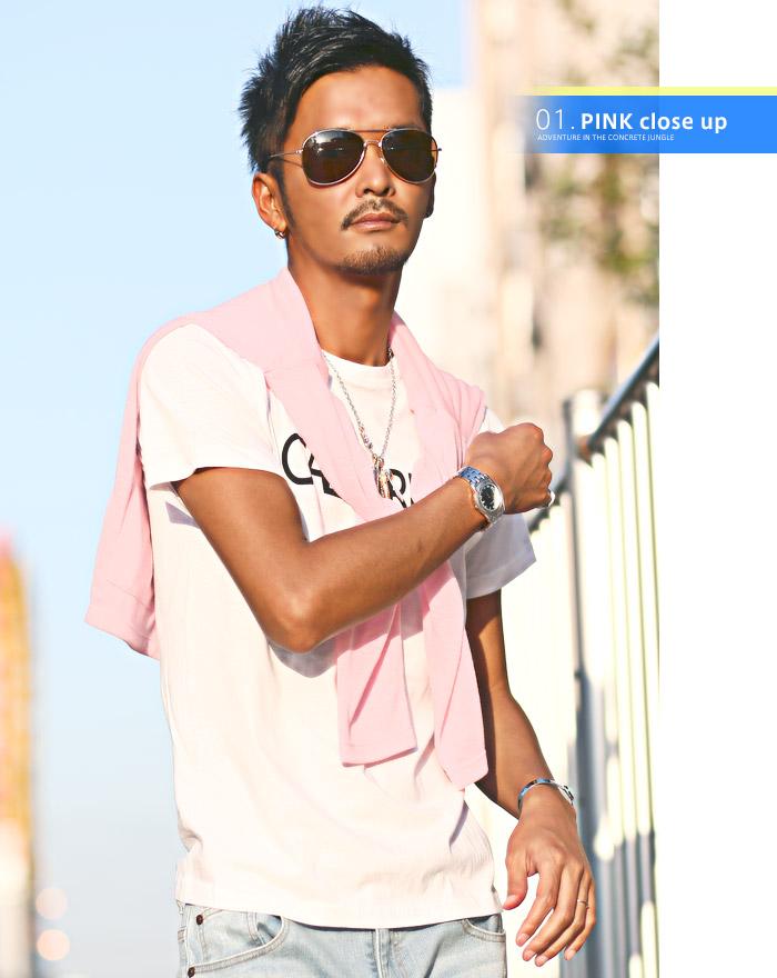 カーディガン メンズ 夏 サマー シースルー 海 ラッシュガード 薄手 ボーダー BITTER ビター系 お兄系 ファッション 10s