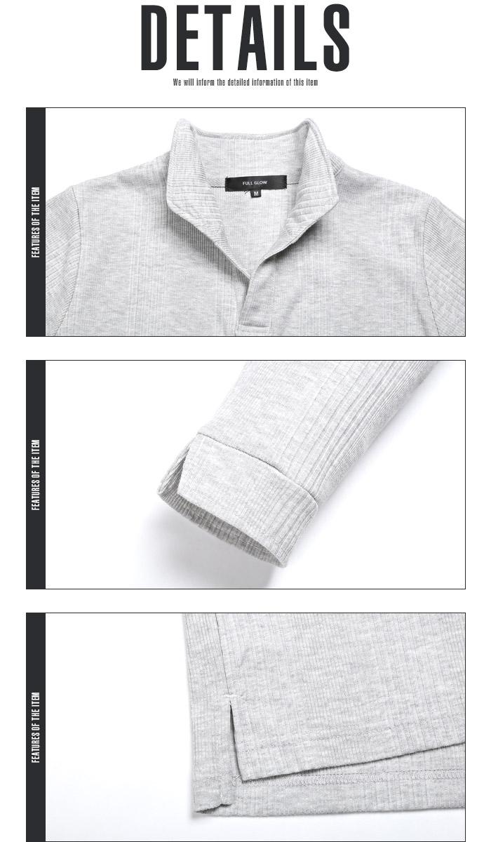 イタリアンカラー ポロシャツ Tシャツ メンズ 7分袖 七分袖 テレコ 無地 ストレッチ 細身 タイト 夏 BITTER ビター系 トップス ポロ POLO シャツ ワイヤー 襟 スキッパー シンプル 大人 18
