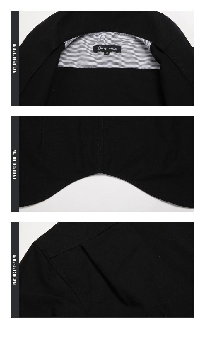 BITTER シャツ メンズ イタリアンカラー トップス 長袖 白 ホワイト 白シャツ オックスフォード カジュアルシャツ ドレスシャツ 綿 コットン 無地 インナー スーツ カジュアル キレイめ お兄系 ビター系 ファッション 服 通販 秋冬 16
