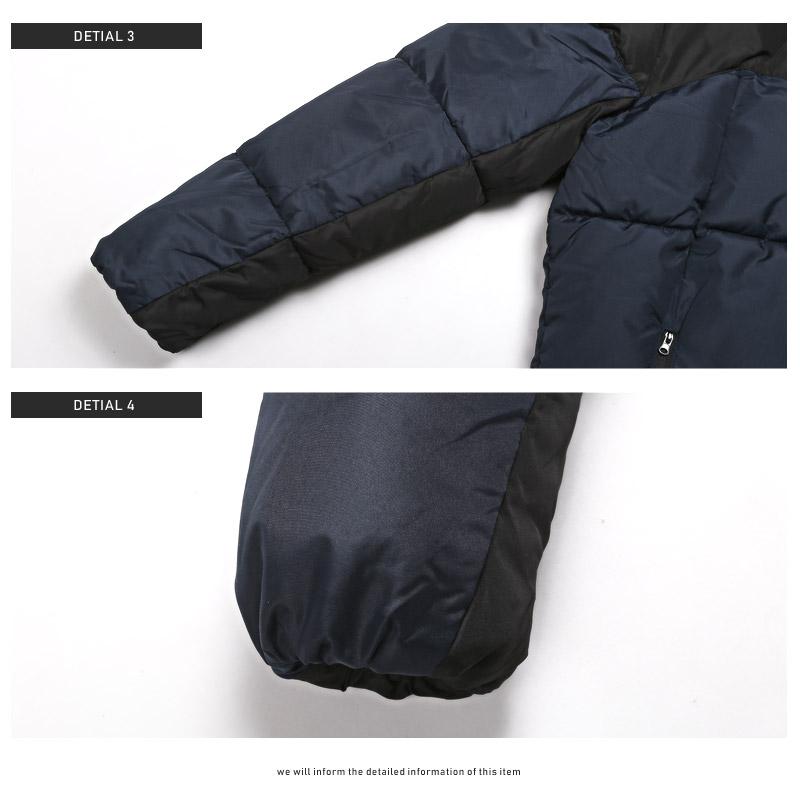 中綿ジャケット ブルゾン カラー 切り替え 冬 ダウンジャケット 配色 アウター フード フードジャケット ボリュームネック 防寒 ファッション BITTER ビター ストリート ラグスタイル pm-7965 14