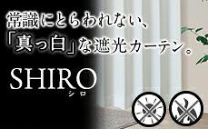 真っ白なカーテン「SHIRO」