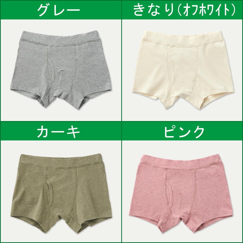 メンズボクサーパンツの種類