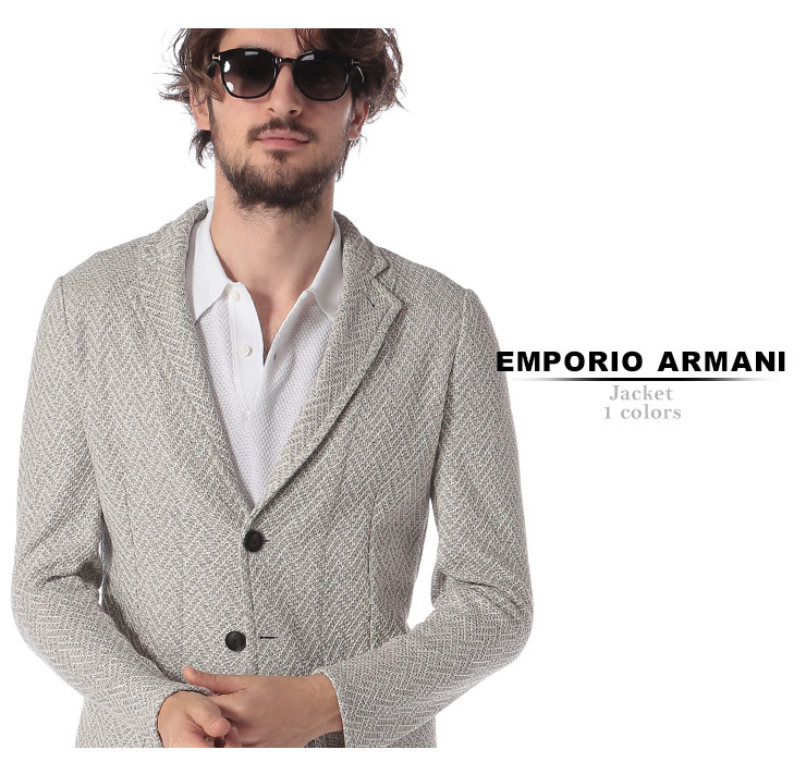 outlet store 2d468 635bc EMPORIO ARMANI (エンポリオ アルマーニ) 綿100% シングル 2ツ ...
