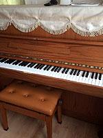 ヤマハ リフレッシュ済み中古ピアノ W109