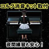ピアノ 消音キット コルグ