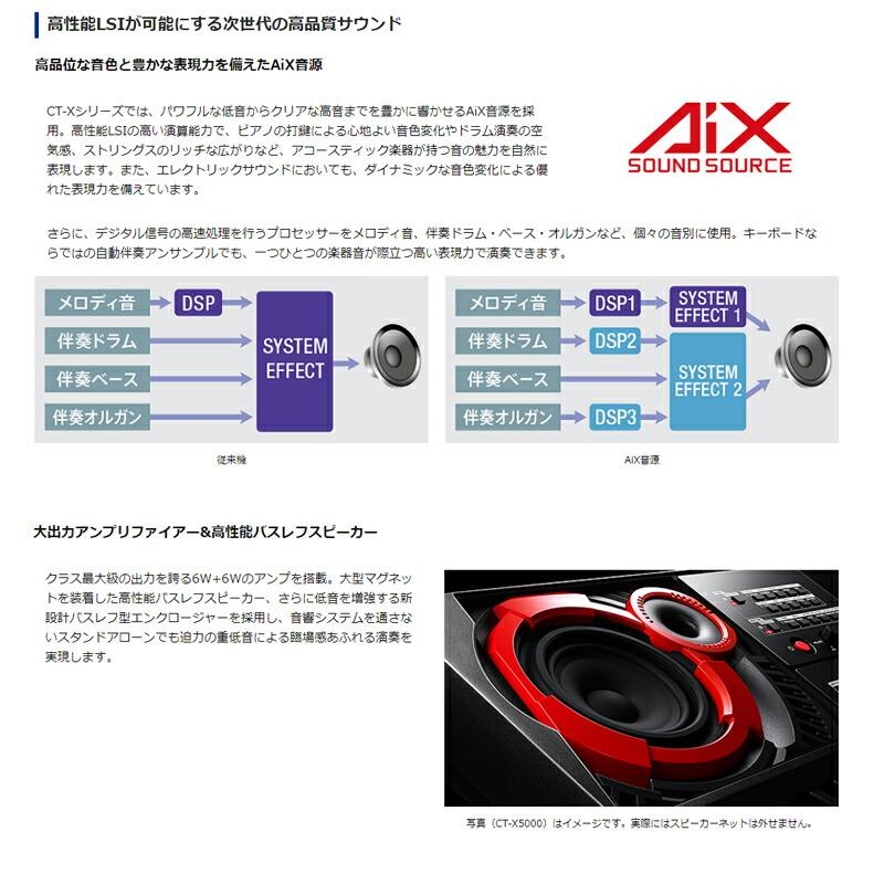 CASIO カシオ CT-X3000