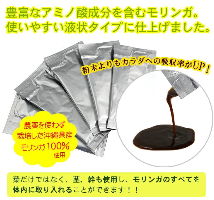 豊富な栄養成分を液体に濃縮