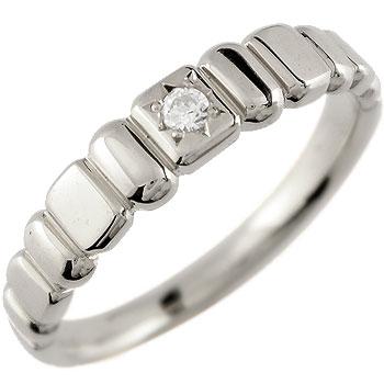 ダイヤモンド リング 一粒ダイヤモンド 指輪 ホワイトゴールドk18