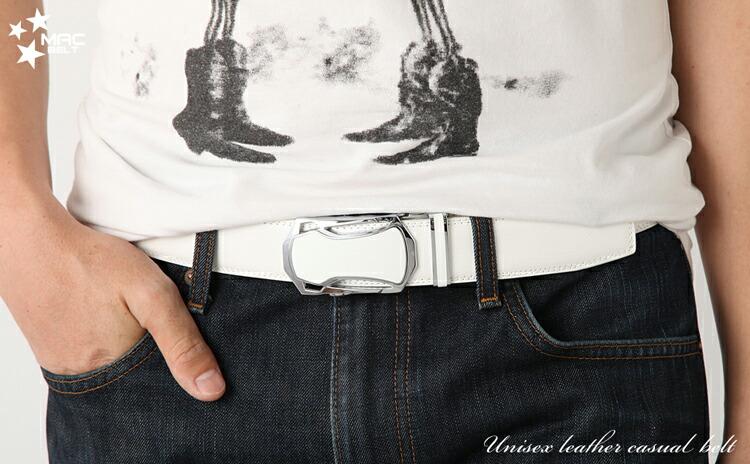 ベルト メンズ 革 MACBELT マックベルト 牛革 ビジネス ベルト メンズ 送料無料 MBW