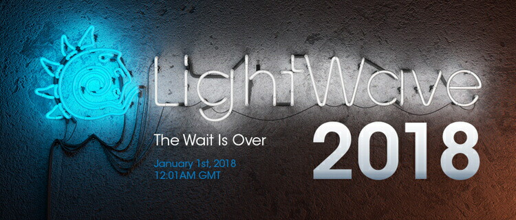 LightWave 2018 日本語版