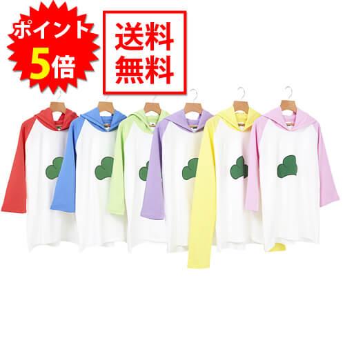 おそ松さん ラグラン松パーカー Mサイズ / Lサイズ