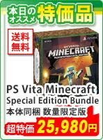 PS Vita Minecraft Special Edition Bundle 本体同梱 数量限定版 マイクラ バンドル DLC