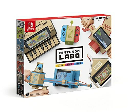 Nintendo Labo Toy-Con 01: Variety Kit (バラエティーキット)