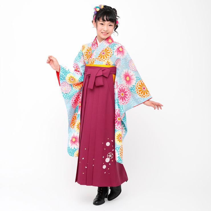 小卒女児袴セット