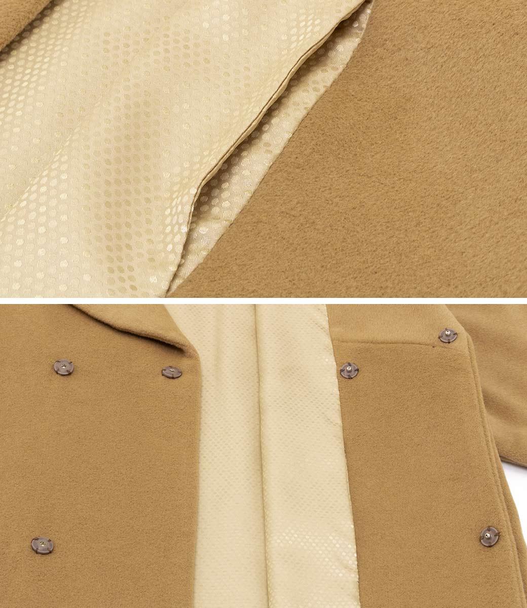 やさしい肌触りの着物用コート