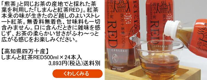 高知県/四万十産 しまんと紅茶RED