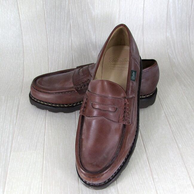 Paraboot パラブーツ メンズ ローファー ランス REIMS 099412 チロリアン シューズ フランス製 靴
