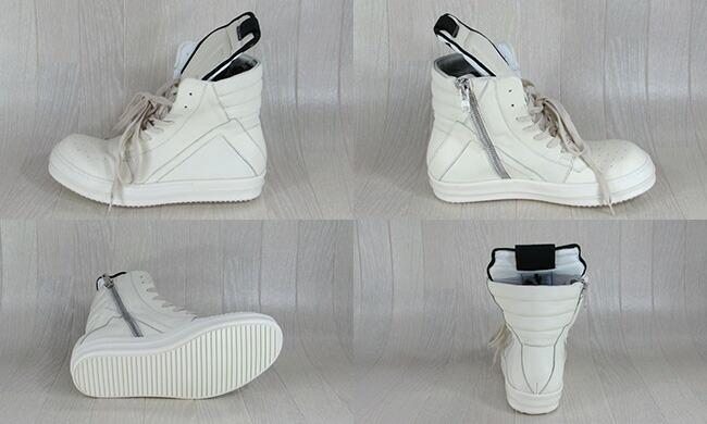 リックオウエンス RICK OWENS メンズ レザー スニーカー 靴 シューズ ハイカット