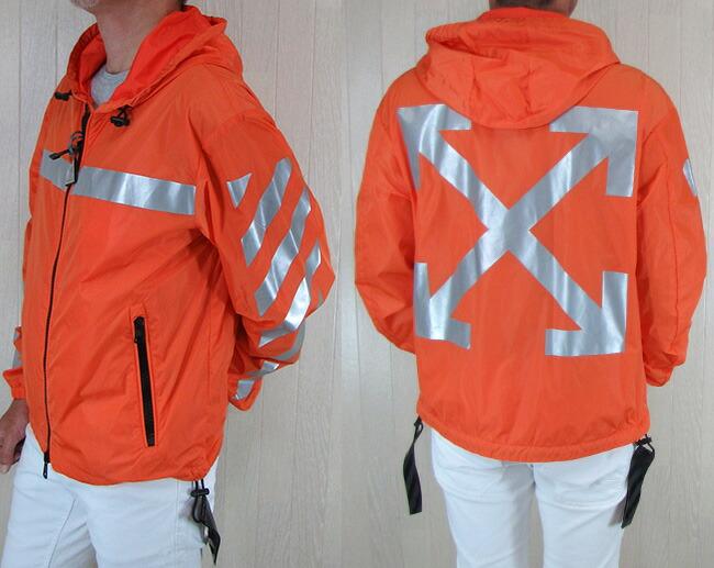 MONCLER Off-White モンクレール オフホワイト メンズ ジャケット マウンテンパーカー ウインドブレーカー