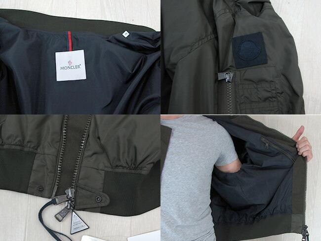 モンクレール MONCLER メンズ ミリタリージャケット ジャンパー ブルゾン アウター