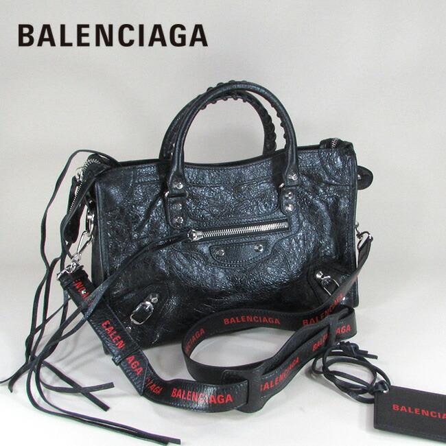 バレンシアガ BALENCIAGA バッグ ショルダーバッグ 手持ち 本革 レザーバッグ