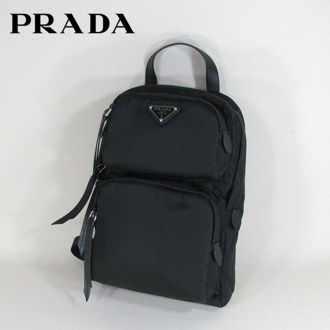 brand new e0b78 34c15 プラダ PRADA バッグ ボディバッグ ショルダーバッグ ナイロン ...
