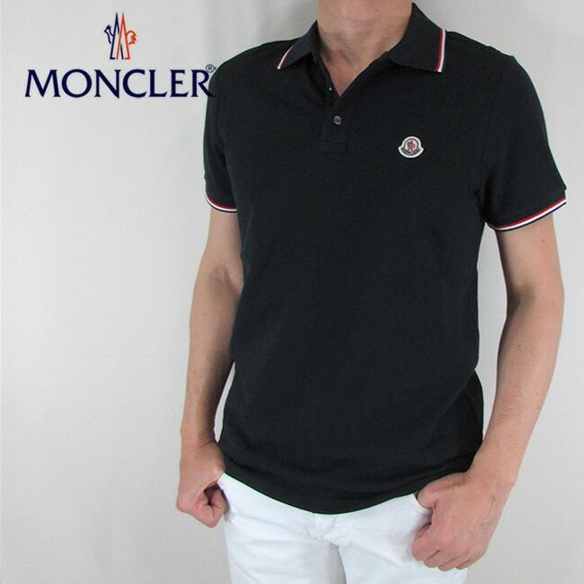 モンクレール MONCLER メンズ ポロシャツ 半袖 トップス