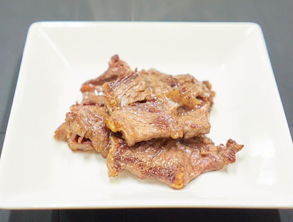 牛ほほ肉の焼肉