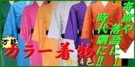 カラー着物