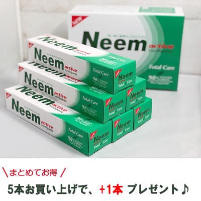 ニーム配合!ニーム歯磨き粉