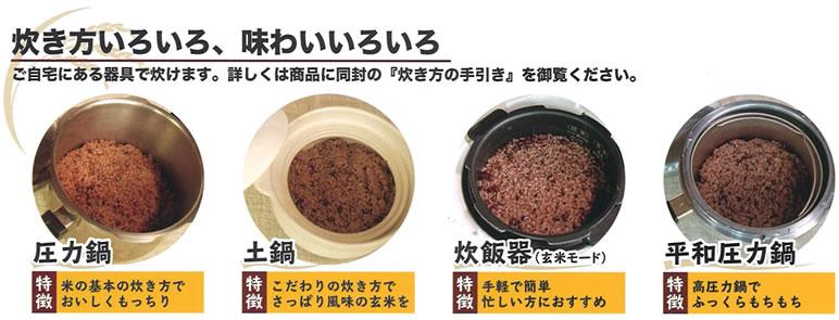 酵素玄米の素 炊き方