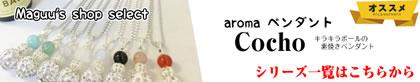 aroma アロマペンダント&ピアス コチョシリーズ