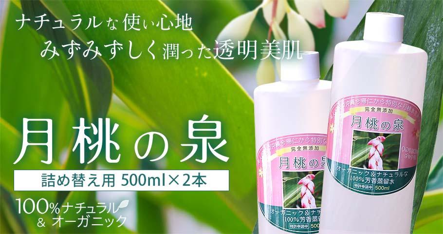 月桃の泉500ml メイン