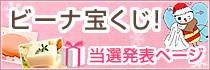 冬のビーナ宝くじ当選発表