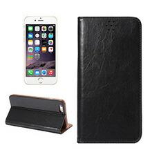 iPhone6/6S 4.7インチ 本革風 手帳型 PUレザー フリップ ケース スタンド機能 マグネット付 5カラー選択(黒、赤、茶、珈琲、青)