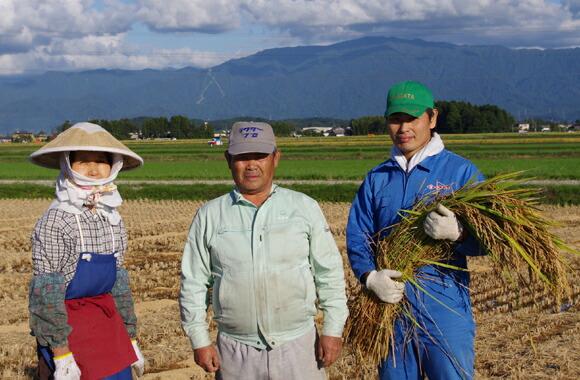 生産農家の三田村さん