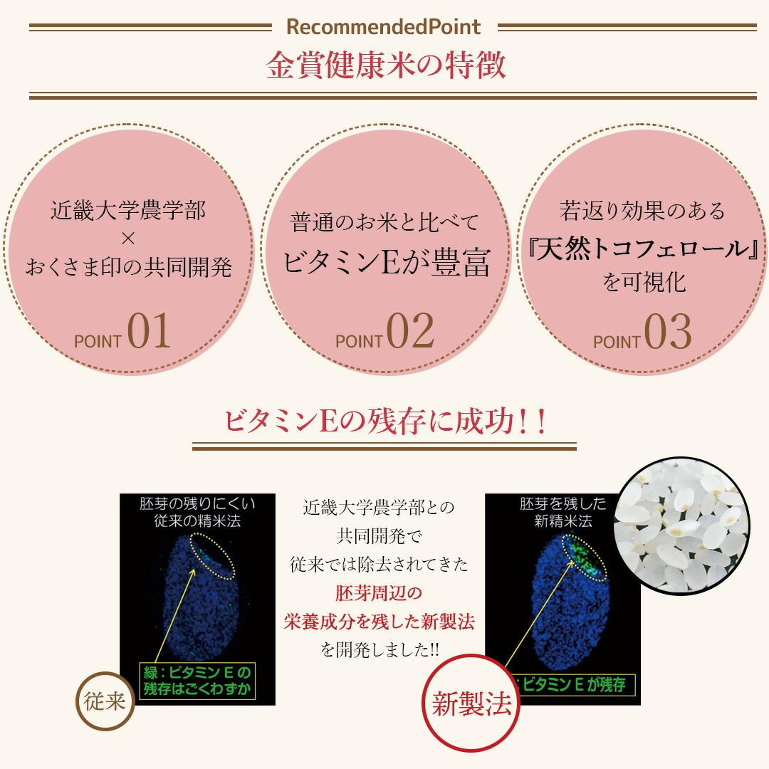 金賞健康米3