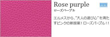 ローズパープル Rose purple