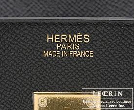 エルメス バーキン30 ブラック ヴォーエプソン ゴールド金具