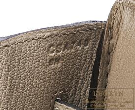 エルメス バーキン35 トゥルティエールグレー トゴ シルバー金具