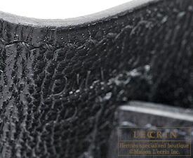 エルメスケリー28/外縫いブラックボックスカーフゴールド金具