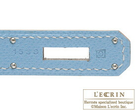 エルメス キャンディ ケリー35/ 内縫い セレスト ヴォーエプソン シルバー金具