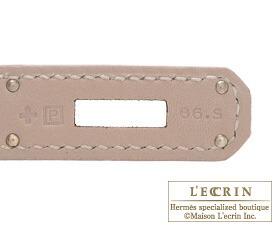 エルメスバーキン30アルジル/エトゥープスイフトシルバー金具