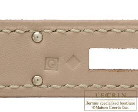 エルメスバーキン35アルジル/エトゥープスイフトシルバー金具