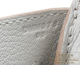 エルメス バーキン35 パールグレー トリヨンクレマンス シルバー金具