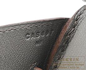 エルメス バーキン35 エタン ヴォーエプソン シルバー金具