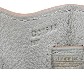 エルメス ケリー32/内縫い パールグレー トリヨンクレマンス シルバー金具