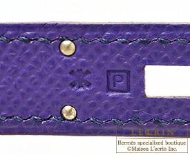 エルメスケリー32/外縫いクロッカスヴォーエプソンシルバー金具