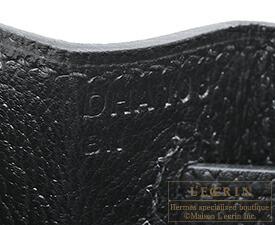 エルメスケリー28/外縫いブラックヴォーエプソンシルバー金具