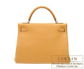7dfc170d267 Lecrin Boutique Tokyo  Hermes Kelly bag 32 Retourne Natural sable ...
